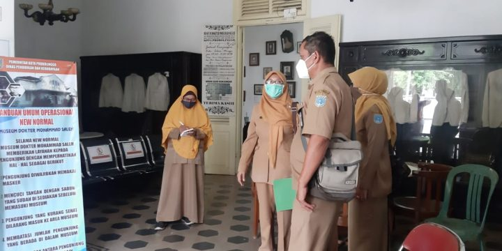 Dispopar Lakukan Monev di Museum dr. Saleh